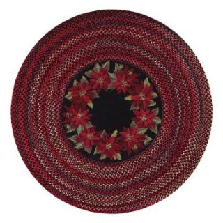 Capel Rugs Holiday Flores Braided Rug   Braided Rugs
