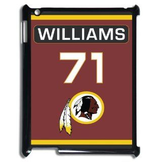 Fashionable NFL Washington Redskins Left Tackle Trent Williams No.71 Jersey Design Printed Durable HARD Ipad 4 Case Computers & Accessories