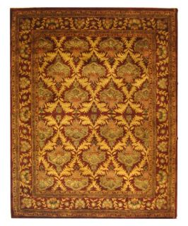 Safavieh Antiquities AT54A William Morris Oriental Area Rug   Wine   Area Rugs