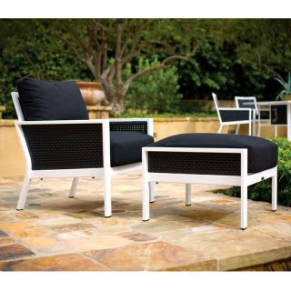 Koverton Parkview Outdoor Wicker Deep Seating Club Chair   Wicker Chairs & Seating