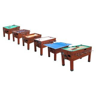 Playcraft Danbury 13 in 1 Multi Game Table   Foosball Tables