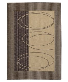 Couristan Five Seasons Boulder Indoor/Outdoor Area Rug   Cream/Brown   Area Rugs
