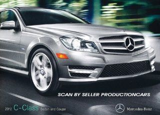 2012 Mercedes Benz C Class C250 C400 C350 28 page Original Sales Brochure