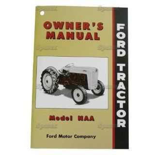 FORD TRACTOR OWNER'S MANUAL, NAA, JUBILEE