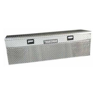 Tradesman Full size Single Lid Slim Line Flush Mount Truck Tool Box   Truck Tool Boxes