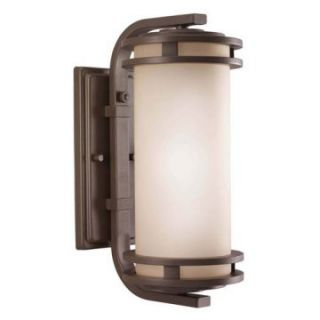 Kichler Hendrik Outdoor Wall Lantern   15H in. Textured Architectural Bronze   Outdoor Wall Lights