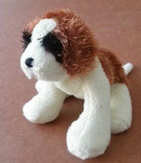 Webkinz Lil' Kinz St. Bernard Dog Stuffed Animal Plush Toy   9 inches long Toys & Games
