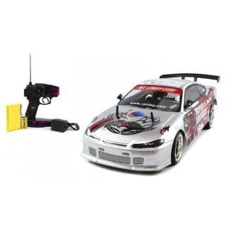 Electric Full Function 110 CT Speed Racing Nissan Silvia S13 10+MPH RTR RC Car (Colors May Vary) Toys & Games