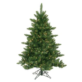 4.5 ft. Camdon Fir Slim Pre lit Christmas Tree   Christmas Trees