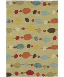 Kaleen Habitat Buoy Indoor/Outdoor Rug   Sand   Rugs