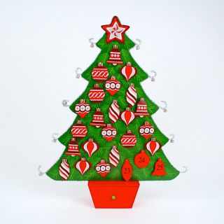 One Hundred 80 Degrees Tinsel Tree Advent Calendar   Decorative Accents