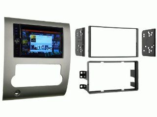OTTONAVI Nissan Titan 2008 and Up In dash Double Din Android Multimedia K Series Navigation Radio with Complete Kit  In Dash Vehicle Gps Units  GPS & Navigation