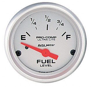 Auto Meter 4315 Ultra Lite Electric Fuel Level Gauge Automotive