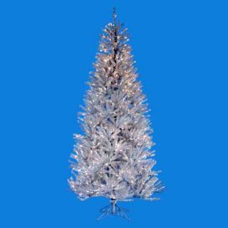Silver Ice Pre lit Christmas Tree   Christmas Trees
