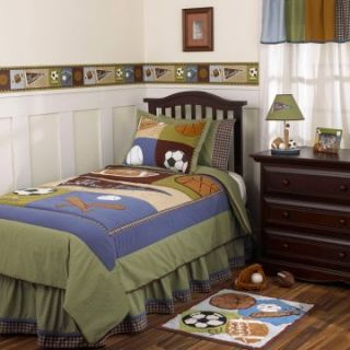CoCaLo Kids Sports Fan Bedding Set   Boys Bedding