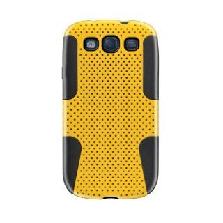 KATINKAS 2108046875 Dual Case for Samsung Galaxy S3   Tough Series   1 Pack   Retail Packaging   Yellow Cell Phones & Accessories