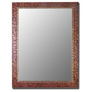 Desert Copper & Gold Accent Mirror   Wall Mirrors