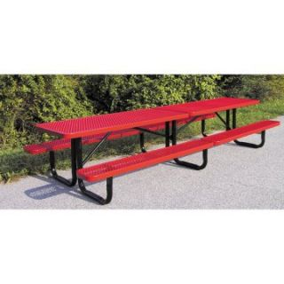 Standard Expanded Metal Commercial Grade Picnic Table   Picnic Tables