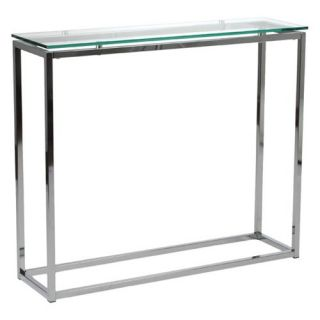 Euro Style Sandor Console Table   Clear   Console Tables