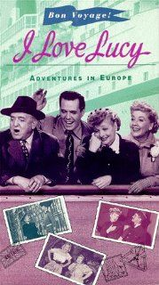 I Love Lucy Adventures in Europe [VHS] Lucille Ball, Desi Arnaz, Vivian Vance, William Frawley, Gordon B. Clarke, John Mylong, Barney Phillips, Harry Antrim, Dorothea Wolbert, Hazel Pierce, Louis Nicoletti, The Pied Pipers, James V. Kern, Jess Oppenheime