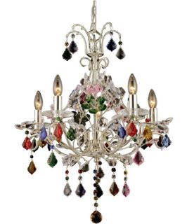 Dale Tiffany Yolanda Chandelier   Tiffany Ceiling Lighting