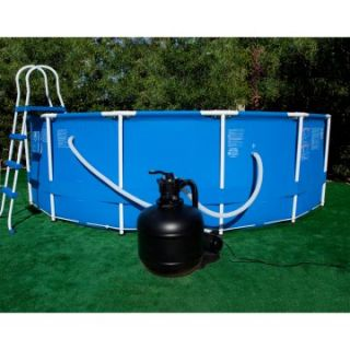 Swim Time 18 in. Sand Filter System with 3/4 HP Pump for Above Ground Pools   Swimming Pools & Supplies