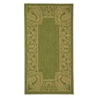 Safavieh Courtyard CY2965 Area Rug Olive/Natural   Area Rugs