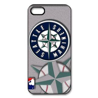 W supplier Personalized Design Slim Protective Case Snap on Cover for iphone 5   MLB Seattle Mariners Series Style(4.05ModelW supplier 03058) Cell Phones & Accessories