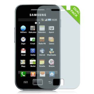 Samsung Galaxy Ace (S5830) Screen Guard Protector   Dual Pack Cell Phones & Accessories