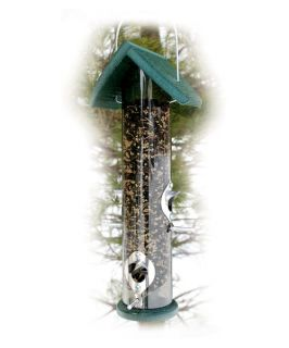 Going Green 18 in. Recycled Plastic Mixed Seed Bird Feeder   Bird Feeders