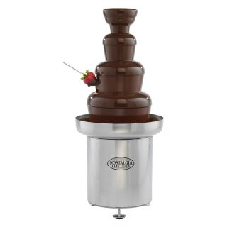 Nostalgia Electrics CFF552 Commercial Stainless Steel Chocolate Fondue Fountain   Chocolate Fountains