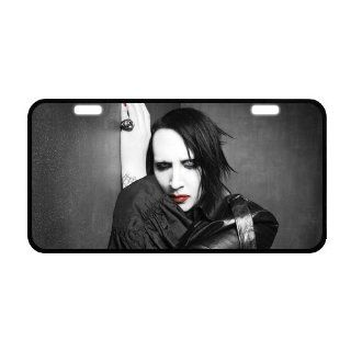 Marilyn Manson Metal License Plate Frame LP 846 Sports & Outdoors