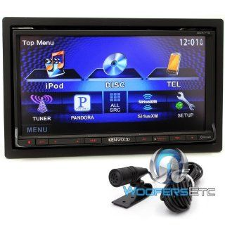 "Kenwood Ddx770 Tv 7"" Screen Double Din Cd Dvd Usb Pandora Eq 200w Amp Bluetooth  Vehicle Dvd Players"