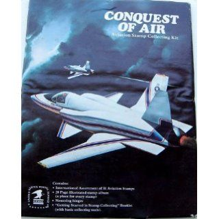 Conquest of Air Aviation Stamp Collecting Kit (USPS Stamp Collecting Kit Series, #851) United States Postal Service Books