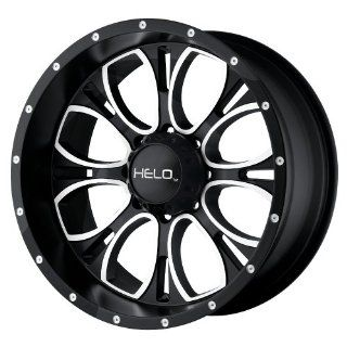 "Helo HE879 Wheel with Gloss Black Milled (20x9""/8x6.5"") Automotive"