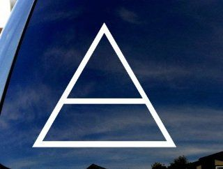 "30 SECONDS TO MARS Logo TRIAD Car Truck Laptop Sticker Decal 6"" Wide"