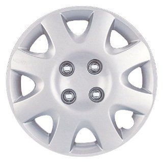 "Drive Accessories KT 895 14S/L, Honda Civic, 14"" Silver Lacquer Replica Wheel Cover, (Set of 4) Automotive"