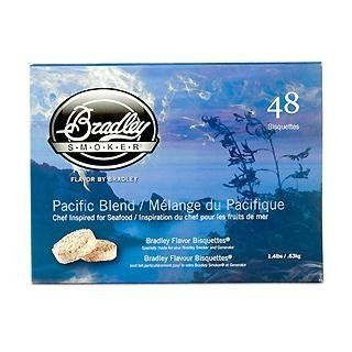 Bradley Smokers Pacific Blend Bisquettes (2.75 x 6.875 x 9.25 Inch, Pack of 48) Garden, Lawn, Supply, Maintenance  Lawn And Garden Spreaders  Patio, Lawn & Garden