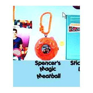 McDonald's Happy Meal Nickelodeon iCarly Spencer's Magic Meatball Keychain Toy #3 Toys & Games