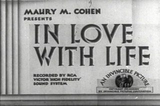 Old Classic Tear Jerker Movies In Love with Life on DVD. Starring Lila Lee, Dickie Moore, Onslow Stevens, Claude Gillingwater, Rosita Marstini, James T. Mack, Clarence Geldart, Tom Ricketts, William Arnold, and The Meglin Kiddies. Dickie Moore, Frank R.