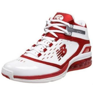 New Balance Men's BB906 Basketball Shoe,Red,16 2E Clothing