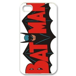 Custom Batman Logo Cover Case for iPhone 4 4s LS4 906 Cell Phones & Accessories