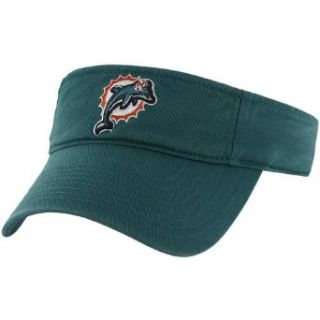 NFL Miami Dolphins Men's Clean Up Cap Visor, One Size, Tailgate Teal  Sports Fan Visors  Clothing