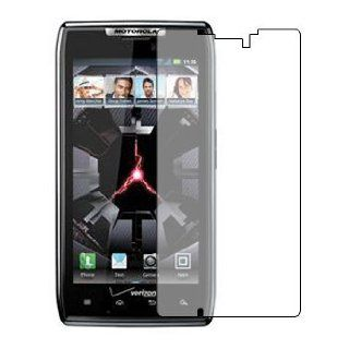 6 IN 1 PACK CLEAR LCD SCREEN PROTECTORS FOR MOTOROLA RAZR XT910 DROID   3 LAYER ANTI SCRATCH PHONE DISPLAY SAVERS Cell Phones & Accessories