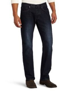 Kenneth Cole New York Men's Bootcut Jean, Dark Indigo, 30x32 at  Men�s Clothing store