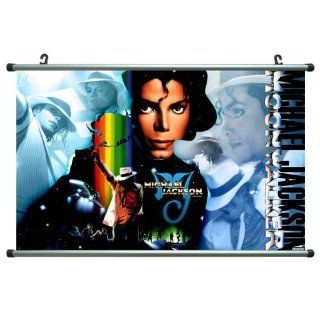 Michael Jackson 22x14 Artists ArtPrint Scroll Poster 005C   Prints
