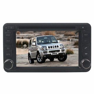 Tyso For SUZUKI JIMNY(After 2005) 6.2 inch Indash Win CE6.0 operation system CAR DVD Player GPS Navigation Navi iPod Rear Camera Bluetooth HD Radio AM FM Tuner PIP Stereo Free Map CD6151R  In Dash Vehicle Gps Units