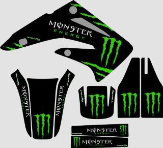 Honda CR85 Monster 1 graphics kit 2003 2012 Automotive