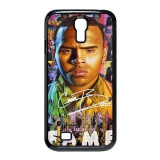 Custom Chris Brown Cover Case for Samsung Galaxy S4 I9500 S4 928 Cell Phones & Accessories