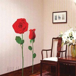 Flower Rose Wall Sticker Decals LX929   Wall Murals